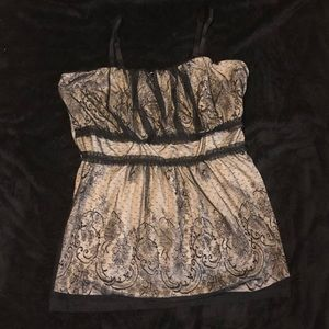Torrid Tops - Lace over satin camisol